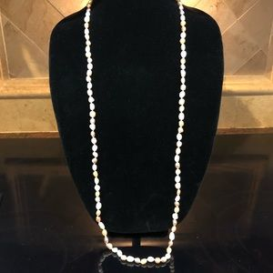 Jewelry - Lovely Long Strand of Multi- Colored Pearls
